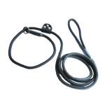 Guia unificada 8mm de espessura adestramento adestrador passeio exposição cães cachorros canil salles 001