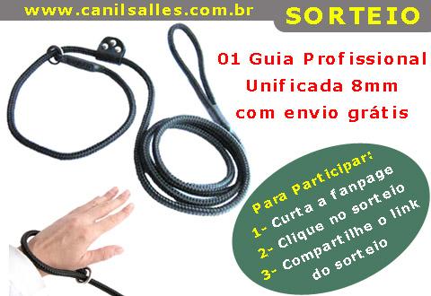 Sorteio guia unifcada profissional 8mm canil salles ABR2014